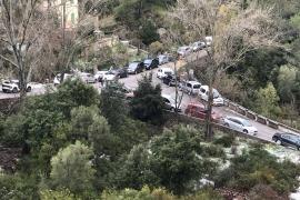 El alcalde de Escorca denuncia el colapso de la carretera de la Tramuntana
