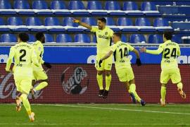 Suárez salva al Atlético en el minuto 90