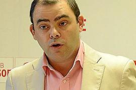 PALMA - RUEDA DE PRENSA DE MERCEDES GARRIDO Y COSME BONET EN LA SEDE DEL PSOE.