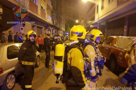 Una pareja y su hija de 11 años, intoxicados por una fuga de gas en un piso de Palma