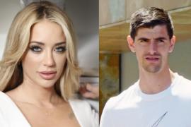 Mayka, muy enfadada, niega su relación con el futbolista Thibaut Courtois