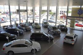 El mercado de coches se desploma en Baleares con una caída del 45 % en 2020
