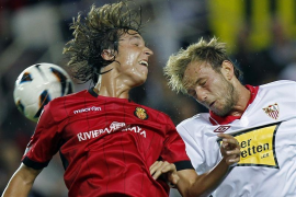 El Sevilla castiga la indolencia del Mallorca (3-2)