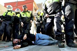 Dos heridos y dos detenidos en nuevos enfrentamientos en el Cabanyal