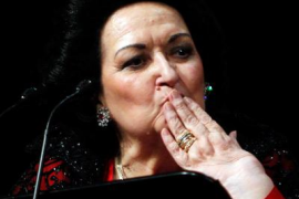 Montserrat Caballé, ingresada por un ictus «leve»