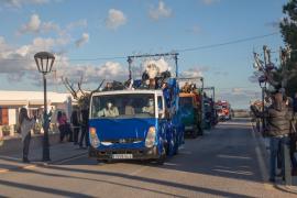 Las imágenes de la cabalgata de los Reyes Magos en Formentera