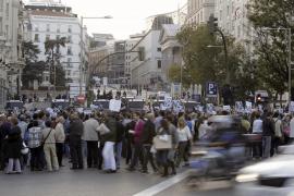 Unas 2.000 personas se concentran junto al Congreso en una nueva protesta del 25-S