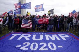 Los seguidores de Trump irrumpen en el Capitolio espoleados por el presidente