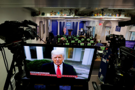 Trump acepta que se acaba su mandato y promete una «transición ordenada»
