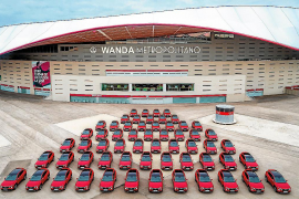 Hyundai entregó el Tucson al Atlético de Madrid