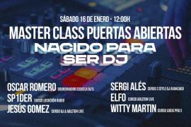 Es Gremi programa la 'master class' 'Nacido para ser DJ'