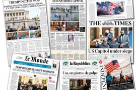 La prensa de EEUU culpa a Trump de la violencia y piden su destitución