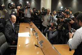 """Rubalcaba: """"No he pensado en dimitir y voy a cumplir hasta el final"""