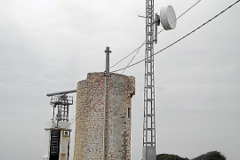 ARCA exige la retirada de un radar en la torre de defensa de Cala Figuera