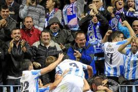 El Málaga sigue haciendo historia