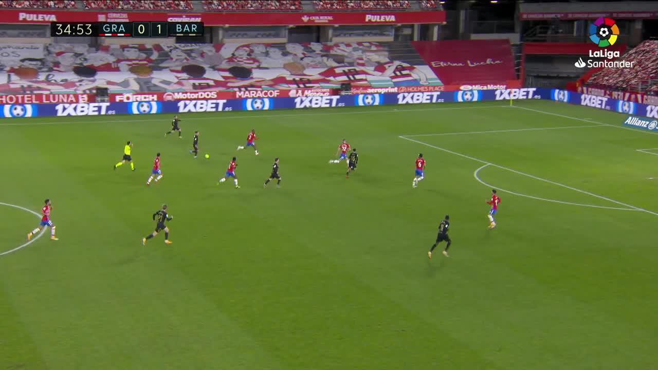 El Barcelona golea al Granada