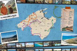 El mapa de 'The Mallorca Files'