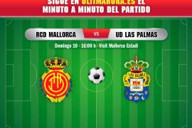 Así ha sido el Real Mallorca-Las Palmas