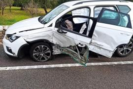 Un conductor se duerme al volante y provoca un accidente con múltiples heridos en la carretera de Sóller
