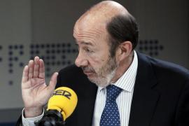 Rubalcaba: «Si los órganos de mi partido me  dicen 'Alfredo, te tienes que marchar', me iré»