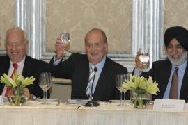 Un empresario indio anuncia en un encuentro con el Rey una inversión de 40 millones en Mallorca