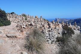 montículos de piedras