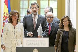 Rajoy: «El esfuerzo de todos es lo que mantiene nuestros hospitales»