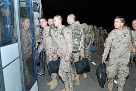 Los militares de Balears inician su regreso de Afganistán