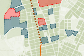Cort convertirá las calles Camp Redó y Cotlliure en «espacios de encuentro»