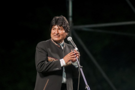 Evo Morales da positivo por coronavirus