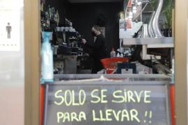 El 'take away' y la compra 'online', la última bala de la hostelería y las grandes superficies tras el cerrojazo