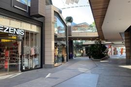 Cierre de los centros comerciales en Mallorca