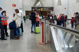 El aeropuerto de Palma perdió 22,1 millones de viajeros en 2020