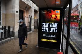 El Reino Unido registra más de 1.500 muertos en un día, la máxima cifra de la pandemia