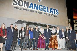 Bauzá inaugura el polideportivo de Son Angelats y las piscinas cubiertas