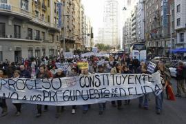 El 25S recorre las calles de Madrid contra «los Presupuestos de la deuda»
