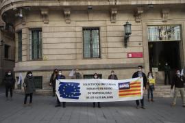 Empleados públicos censuran en Palma «el abuso de la temporalidad»