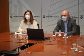Armengol asegura que Ibiza recibirá unos 7,5 millones en ayudas para las empresas afectadas por las restricciones