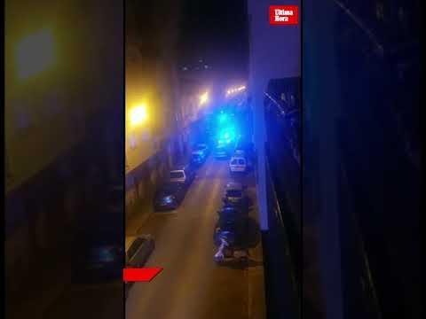 Incendio en un edificio okupado en la barriada de Pere Garau