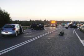 Un joven de 25 años fallece en un accidente de tráfico en Porto Cristo