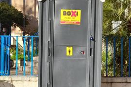 Instalan baños portátiles en las calles de Palma para los trabajadores de EMAYA, ORA y EMT