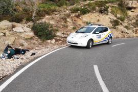 Ciclista herido en Mallorca