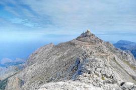 Defensa descarta cualquier acceso público a la base y la cima del Puig Major