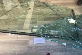 Un menor, delatado por el rastro de sangre que dejó tras cometer un robo en Palma