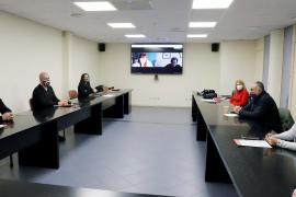 Reunión ejecutivas UGT y CCOO