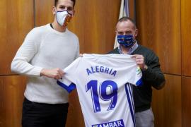 El Zaragoza anuncia la llegada de Álex Alegría