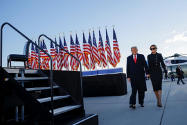 Trump deja la Casa Blanca: «Volveremos de alguna manera»