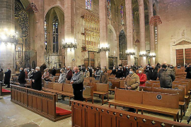 El obispo Taltavull invoca al patrón de Palma para frenar la pandemia