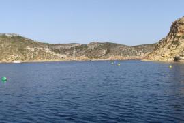 Una bióloga resulta herida grave cuando realizaba una inmersión en aguas de Cabrera