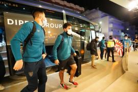 La llegada del Athletic Club a Ibiza, en imágenes.